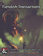 Fiendish Transactions