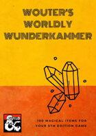 Wouter's Worldly Wunderkammer