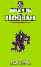 Paper Minis of Phandelver (Starter Set - Lost Mine of Phandelver)