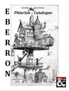 EBERRON: Phiarlan Catalogue