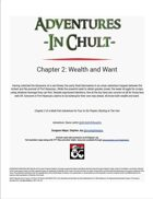 Adventures in Chult: Chapter 2 - Wealth and Want