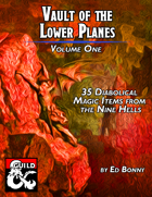 Vault of the Lower Planes, Nine Hells: Volume I