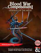 Blood War Compendium I: Generals of the Abyss