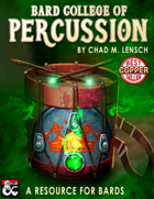 Bard College of Percussion: Drum Resource for Players and DMs