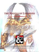 The Angels of Lysander (A level 10-12 adventure featuring Angels)