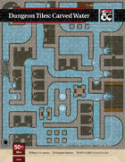 Dungeon Tiles: Carved Water