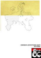 Eberron Adventurer Maps - Xen'drik