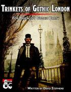 Trinkets of Ravenloft: Gothic London