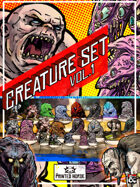 Printable Miniatures Creature Set Vol. 1