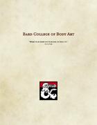Bard College of Body Art