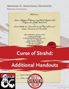 Curse of Strahd: Additional Handouts