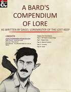 A Bards Compendium of Lore