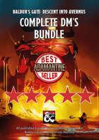 Baldur's Gate: Descent into Avernus Complete DM's Bundle (maps, guides, cheatsheets and more)