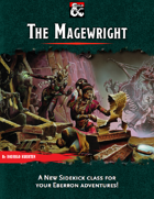 The Magewright - an Eberron sidekick class!