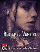 Redeemed Vampire Character Background