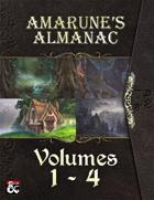 Amarune's Almanac - Volumes 1 - 4 [BUNDLE]