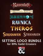 D&D Setting logo pack [BUNDLE]