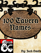 100 Tavern Names