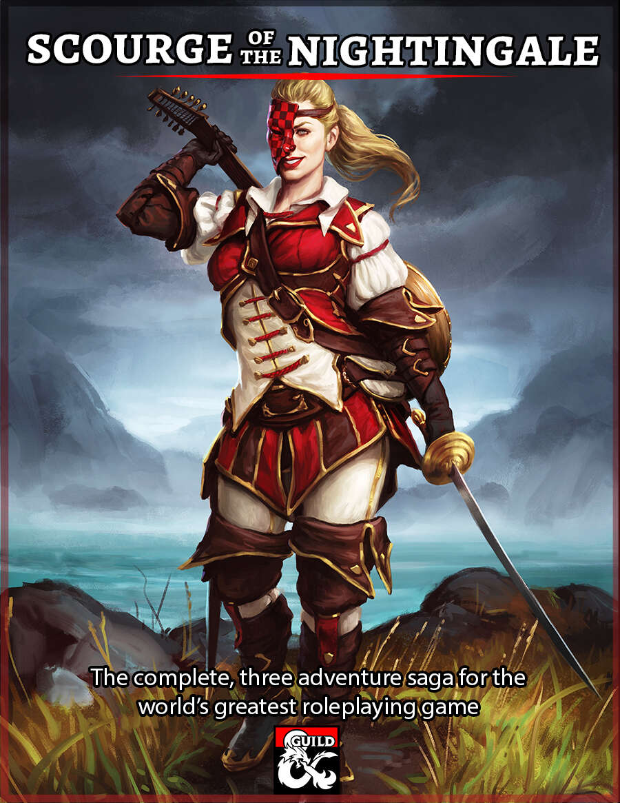 Scourge of the Nightingale - The Complete Saga