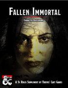 Fallen Immortal Character Background