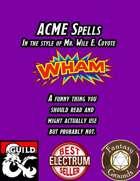 ACME Spells (Fantasy Grounds)
