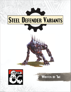 Steel Defender Variants
