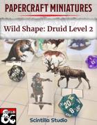 Papercraft Minis: Wild Shape, Level 2