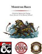 Monstrous Races (Fantasy Grounds)