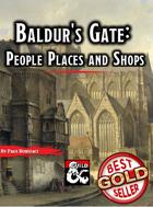 Baldur's Gate - People, Places, and Shops