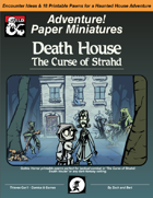 Curse of Strahd: Death House - Paper Minis / Printable Pawns