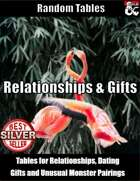 Relationships and Gifts - Random Tables