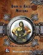Book of Races: Mirtana