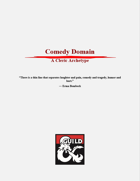 Comedy Domain - A Cleric Archetype