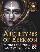 Archetypes of Eberron (PDF & Fantasy Grounds Bundle) [BUNDLE]