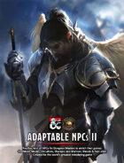Adaptable NPCs II (Fantasy Grounds)