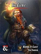 Keeping It Classy: The Cleric (Fantasy Grounds)