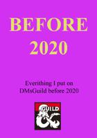 Before 2020 - Bundle