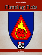 Arms of the Flaming Fists