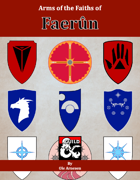 Arms of the Faiths of Faerûn [BUNDLE]