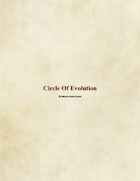 Druid Subclass: Circle of Evolution
