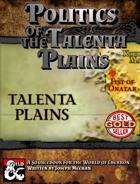 Politics of the Talenta Plains