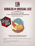 Kobolds of Unusual Size: The Fortress of Randall