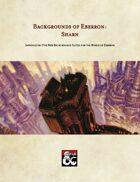Backgrounds of Eberron: Sharn