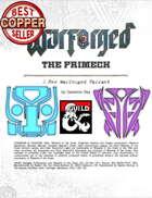 WARFORGED!: The Primech - A New Warforged Variant