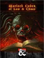 Warlock Codex of Law and Chaos