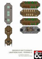 Eberron Battlemaps - Lightning Rail, version 2