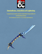 Zuulathrax, The Guardian of Lightning