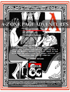 """A-Z One Page Adventures """"A"""" Collected Edition"""