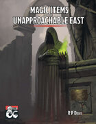 Magic Items of the Unapproachable East