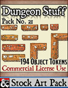 Dungeon Stuff and Objects - Stock Art Pack